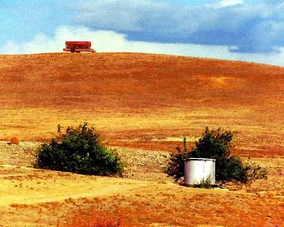 Photograph - Farm Wagon by Timothy Bulone