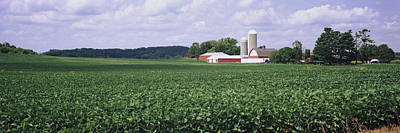 Farm, Wisconsin, Usa Art Print