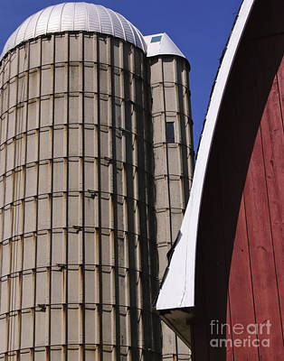 Photograph - Farm Yard Form by Jim Rossol