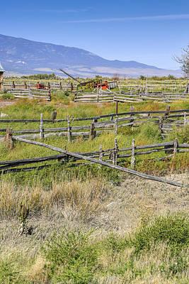 Photograph - Farm Yard by Susan Leonard