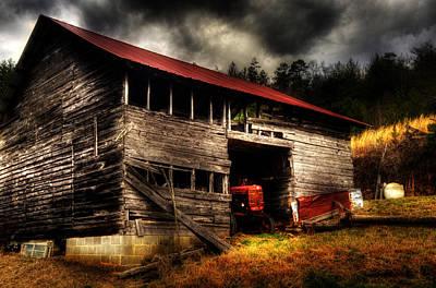 Barn Photograph - Farmall Barn by Greg and Chrystal Mimbs
