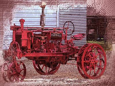 Photograph - Farmall by Bonfire Photography