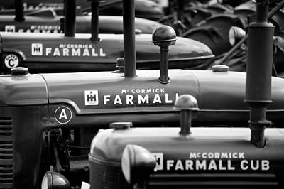 Tractor Photograph - Farmall Bw by Patrick M Lynch