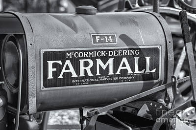 Photograph - Farmall F-14 Tractor II by Clarence Holmes