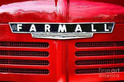Names Photograph - Farmall by Olivier Le Queinec