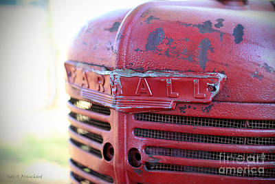 Art Print featuring the photograph Farmall by Todd Blanchard