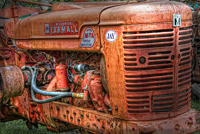 Photograph - Farmall Tractor by Bill Wakeley