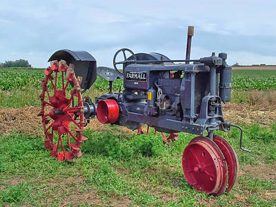 Photograph - Farmall Tractor  by Ken Smith