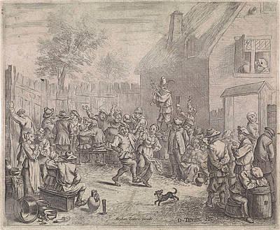Farmer Fair, David Teniers II, Abraham Teniers Art Print