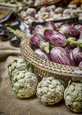 Photograph - Farmers Market Finds by Heather Applegate