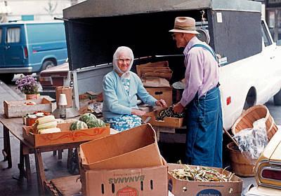 Farmers Market - Getting Ready  Original