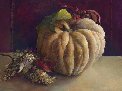 Rafferty Painting - Farmer's Market Gourd by Jason Rafferty