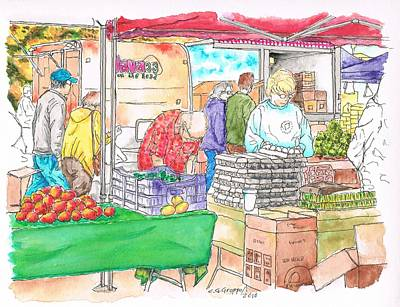 Farmers Market In Oxnard - California Original