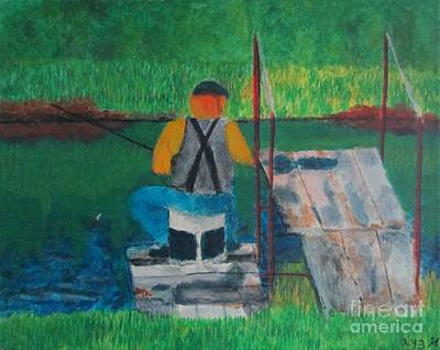 Painting - Farmers Pond by Josh Jeffers