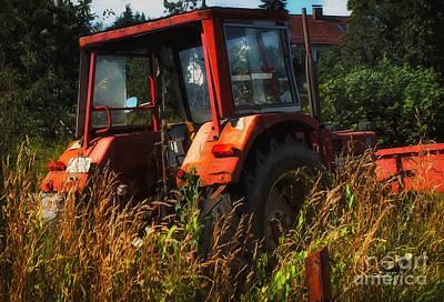 Photograph - Farmer's Vehicle by Jutta Maria Pusl