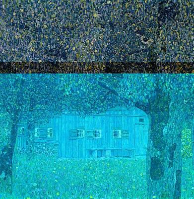 Farmhouse In Upper Austria Art Print by Gustav Klimt