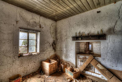 Photograph - Farmhouse Kitchen by Wayne Sherriff