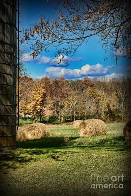 Farming - Its Harvest Time Art Print by Paul Ward