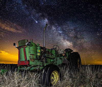Photograph - Farming The Rift 2 by Aaron J Groen