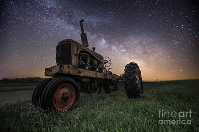Photograph - Farming The Rift 4 by Aaron J Groen