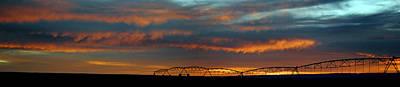 Photograph - Farmington Nm Sunset Pan 5 by Jeff Brunton