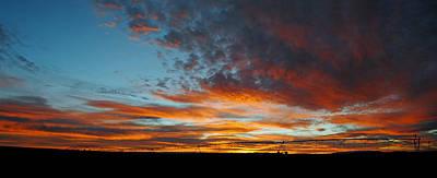 Photograph - Farmington N.m. Sunset Pan 6  by Jeff Brunton