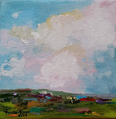 Painting - Farmland I by Judith Rhue