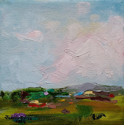 Painting - Farmland IIi by Judith Rhue