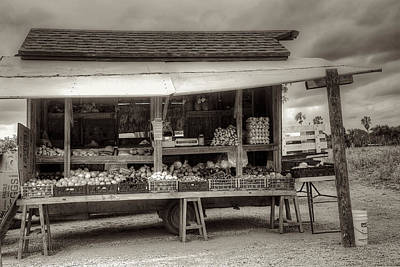 Farmstand Print by William Wetmore