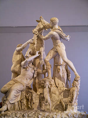 Photograph - Farnese Bull by Brenda Kean