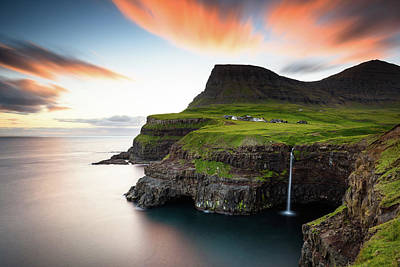 Island Wall Art - Photograph - Faroe Islands by Martin Steeb