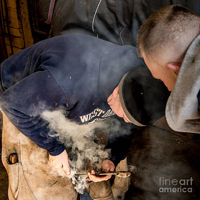 Photograph - Farrier8 by Jim DeLillo
