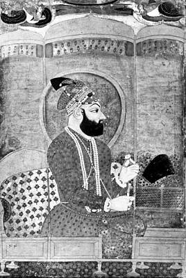 Fine Art India Painting - Farrukhsiyar (1685-1719) by Granger