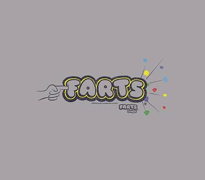 Candy Digital Art - Farts Candy - Finger Logo by Brand A