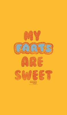 Candy Digital Art - Farts Candy - Sweet Farts by Brand A