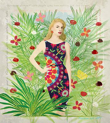 Digital Art - Fashion And Art - Limited Edition 1 Of 10 by Gabriela Delgado
