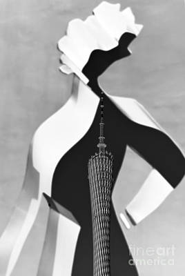 Fashion And Tv Tower Original