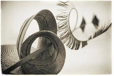 Photograph - Fashion Art -  Big Swirl Hat By Jo Ann Tomaselli by Jo Ann Tomaselli