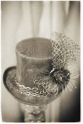 Photograph - Fashion Art - Top Hat By Jo Ann Tomaselli by Jo Ann Tomaselli