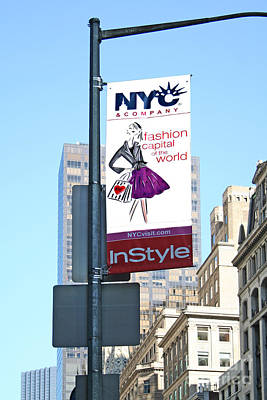 Photograph - Fashion Capital Of The World by Liz Leyden