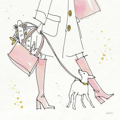 Fashion Feet I Art Print