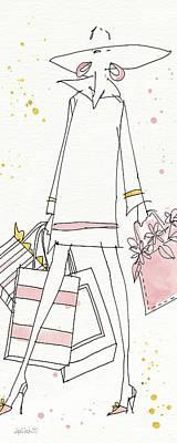 Fashion Feet Vi Art Print