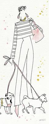 Fashion Feet Vii Art Print