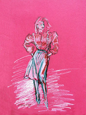 Pastel - Fashion Figure by Tom Conway