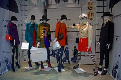 Photograph - Fashion On Display by Caroline Stella