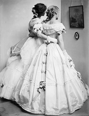 Ball Gown Photograph - Fashion Women, 1906 by Granger