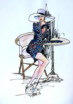 Fashionably Waiting Original