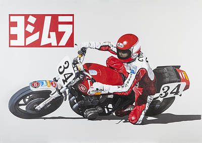 Motogp Painting - Fast And Fearless by John Savage