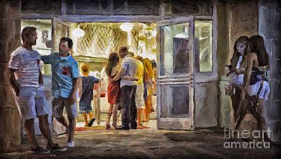 Painting - Fast Food by Walt Foegelle