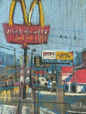 Mcdonald Painting - Fast Foods by Donald Maier